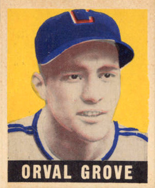 1948 Leaf Orval Grove #66 Baseball Card