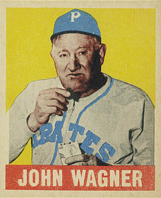1948 Leaf Honus Wagner #70 Baseball Card