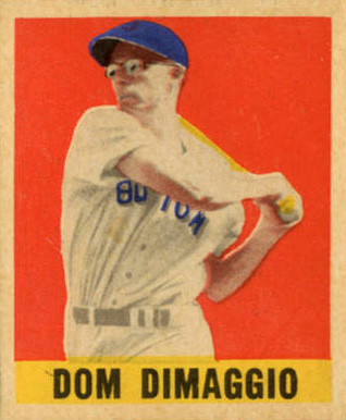 1948 Leaf Dom DiMaggio #75 Baseball Card