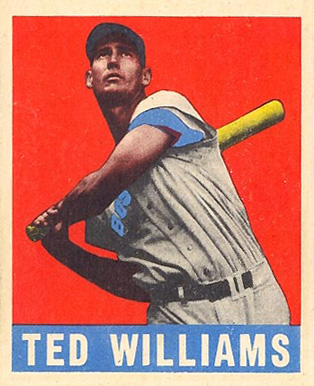 1948 Leaf Ted Williams #76 Baseball Card