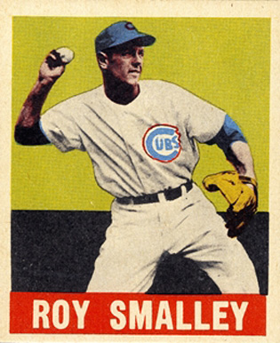 1948 Leaf Roy Smalley #77 Baseball Card