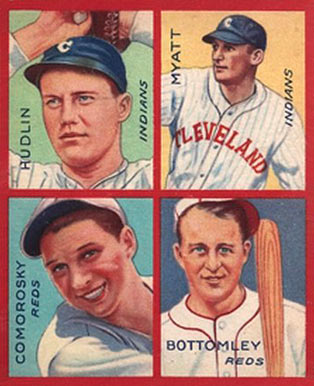 1935 Goudey 4-in-1 Jim Bottomley #14 Baseball Card