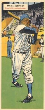 1955 Topps Doubleheaders Jackie Robinson