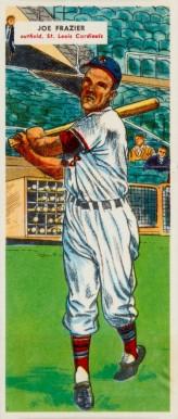 1956 Topps #141.1 Joe Frazier St Louis Cardinals Baseball Card Gray Back
