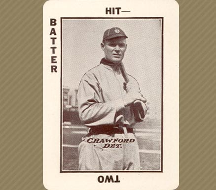 1913 National Game Sam Crawford #12 Baseball Card