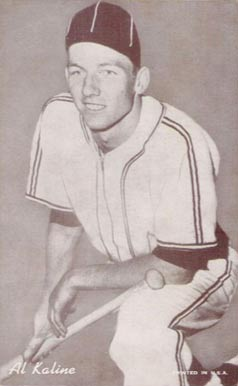 1947 Exhibits Al Kaline #143 Baseball Card