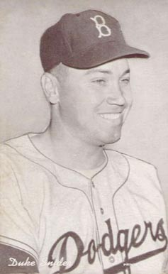 1947 Exhibits 1947-66 Duke Snider #278 Baseball Card
