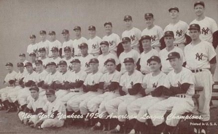 1947 Exhibits New York Yankees Team #341 Baseball Card