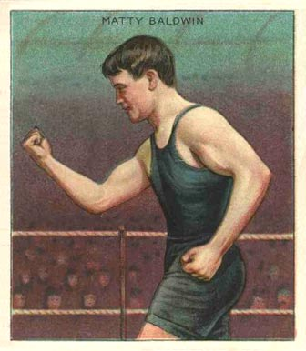 1910 Champions Matty Baldwin #5 Boxing & Other Card