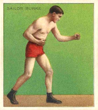 1910 Champions Sailor Burke #8 Boxing & Other Card