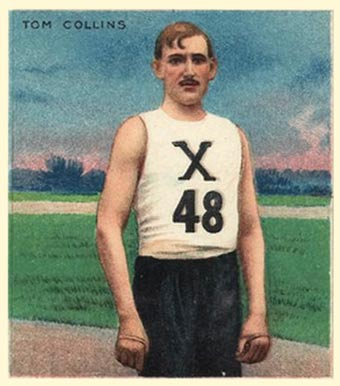 1910 Champions Tom Collins #12 Boxing & Other Card