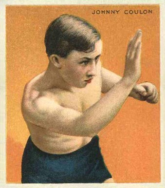 1910 Champions Johnny Coulon #15 Boxing & Other Card