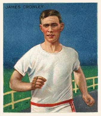 1910 Champions James Crowley #17 Boxing & Other Card