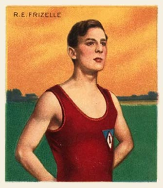 1910 Champions R.E. Frizelle #37 Boxing & Other Card