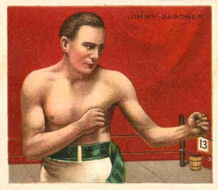 1910 Champions Jimmy Gardner #40 Boxing & Other Card