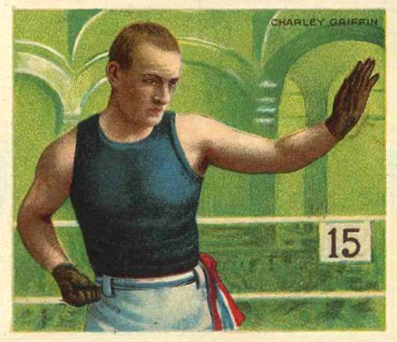 1910 Champions Charley Griffin #47 Boxing & Other Card