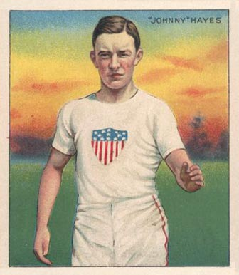 1910 Champions Johnny Hayes #51 Boxing & Other Card
