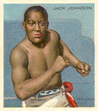 1910 Champions Jack Johnson #71 Boxing & Other Card