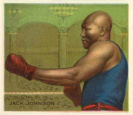 1910 Champions Jack Johnson #72 Boxing & Other Card