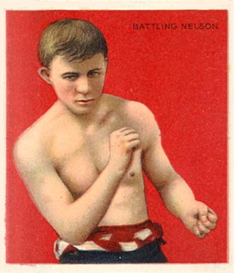 1910 Champions Battling Nelson #106 Boxing & Other Card