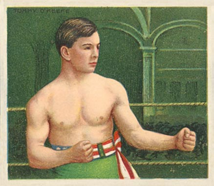 1910 Champions Tommy O'Keefe #114 Boxing & Other Card