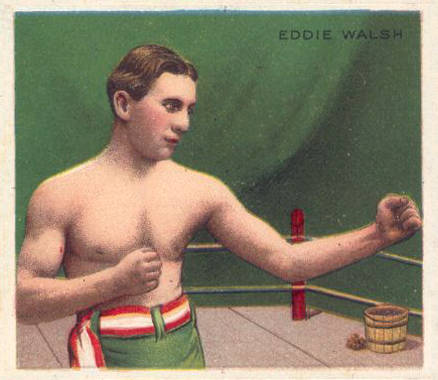 1910 Champions Eddie Walsh #145 Boxing & Other Card