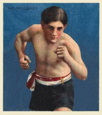 1910 Champions Ad. Wolgast #153 Boxing & Other Card