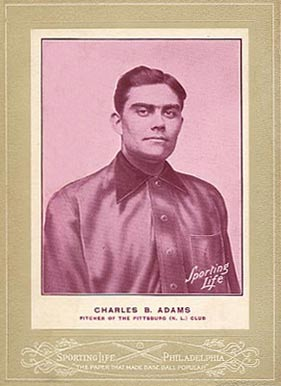 1902 Sporting Life Cabinets Babe Adams #4 Baseball Card
