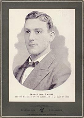 1902 Sporting Life Cabinets Nap Lajoie 377 Baseball Card