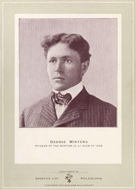 1902 Sporting Life Cabinets George Winter #702 Baseball Card