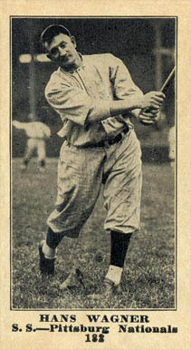1916 Sporting News Honus Wagner #182 Baseball Card