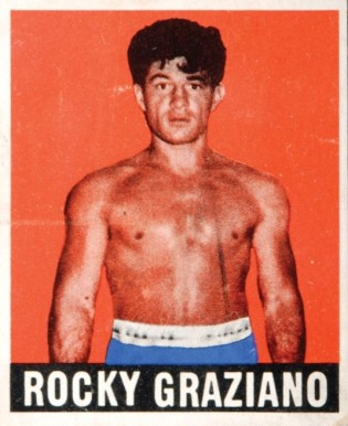 1948 Leaf Boxing Rocky Graziano #50 Boxing & Other Card