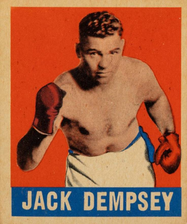 1948 Leaf Boxing Jack Dempsey #1 Boxing & Other Card