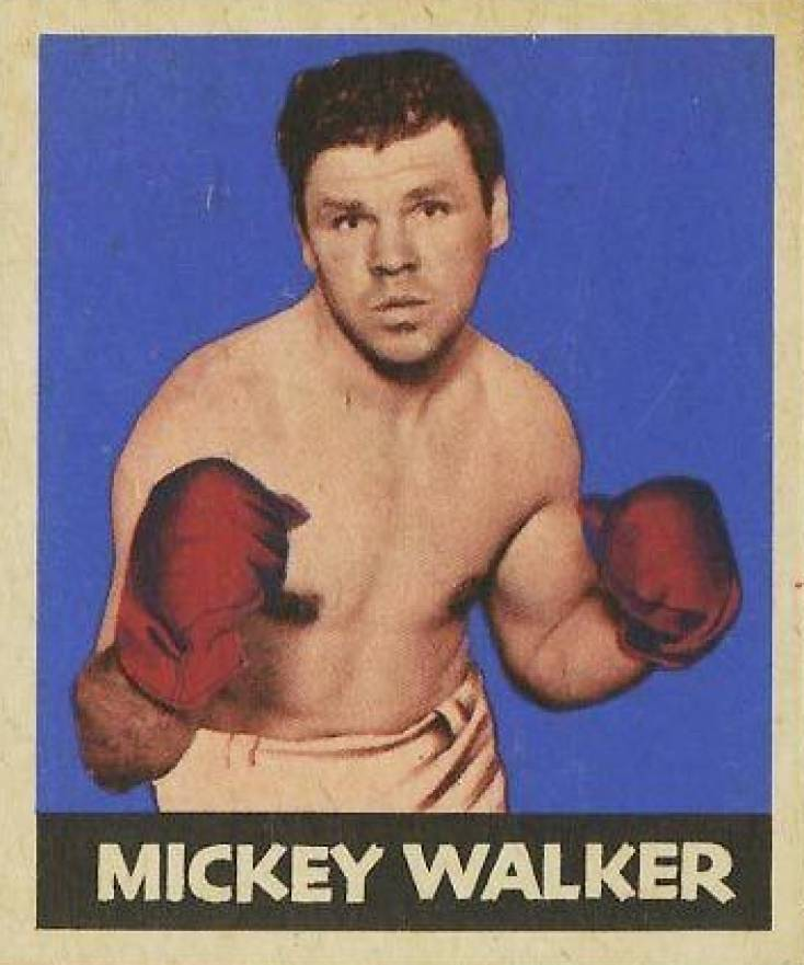1948 Leaf Boxing Mickey Walker #7 Boxing & Other Card
