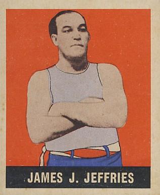 1948 Leaf Boxing Jiames J. Jeffries #9 Boxing & Other Card
