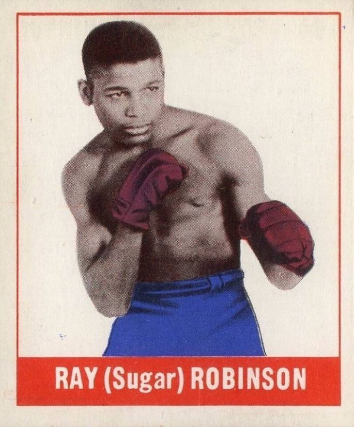 1948 Leaf Boxing Ray Robinson #64 Boxing & Other Card