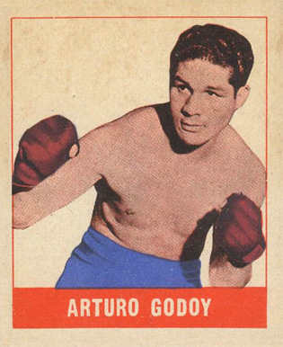 1948 Leaf Boxing Arturo Godoy #8 Boxing & Other Card