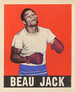 1948 Leaf Boxing Beau Jack #13 Boxing & Other Card