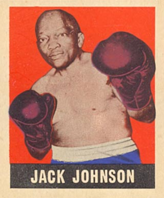 1948 Leaf Boxing Jack Johnson #17 Boxing & Other Card