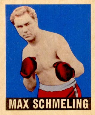 1948 Leaf Boxing Max Schmeling #32 Boxing & Other Card
