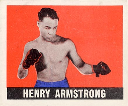 1948 Leaf Boxing Henry Armstrong #35 Boxing & Other Card