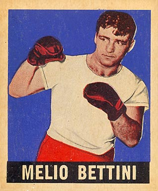 1948 Leaf Boxing Melio Bettini #36 Boxing & Other Card