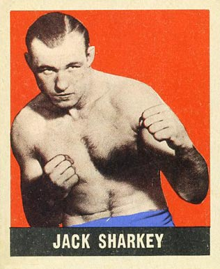 1948 Leaf Boxing Jack Sharkey #38 Boxing & Other Card