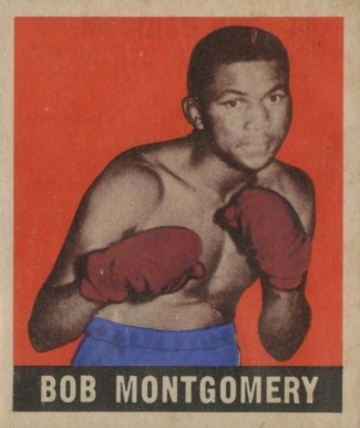 1948 Leaf Boxing Bob Montgomery #44 Boxing & Other Card