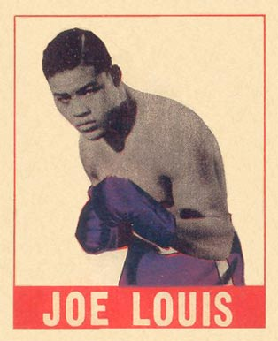 1948 Leaf Boxing Joe Louis #48 Boxing & Other Card
