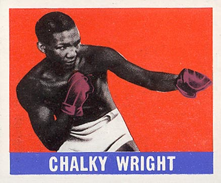 1948 Leaf Boxing Chalky Wright #57 Boxing & Other Card