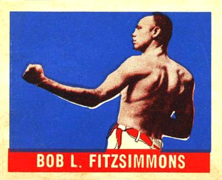 1948 Leaf Boxing Bob Fitzsimmons #63 Boxing & Other Card