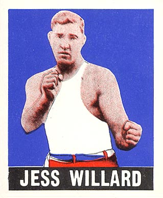 1948 Leaf Boxing Jess Willard #69 Boxing & Other Card