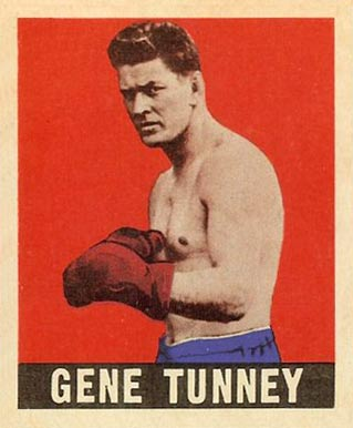 1948 Leaf Boxing Gene Tunney #73 Boxing & Other Card