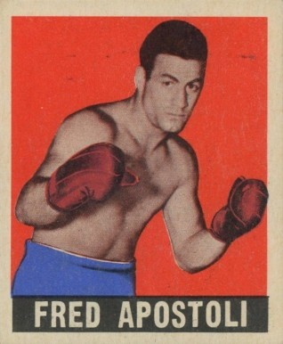 1948 Leaf Boxing Fred Apostoli #74 Boxing & Other Card